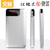 côté portatif de pouvoir de téléphone mobile d'alliage de côté du pouvoir 8000mAh et d'aluminium