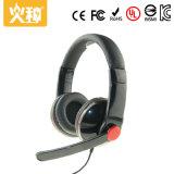 Hz-316 comerciano la cuffia all'ingrosso stereo collegata di Compouter con il microfono