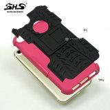Cassa ibrida del telefono di Shs TPU+PC per la mora Z3 con Kickstand