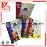 Bocados de la bolsa y bolso Ziplock plásticos del acondicionamiento de los alimentos de animal doméstico