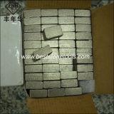 Ds-2 het Marmeren Segment van het Kalksteen van het Zandsteen van het Basalt van het Graniet van de diamant