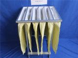 Sackt industrieller Staub-Sammler des Pocket Luftfilter-F8 die 95% Leistungsfähigkeit ein