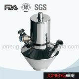 Válvula aséptica sanitaria manual de la muestra del acero inoxidable (JN-SPV2002)