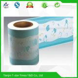 Película protectora respirable impresa de Backsheet del PE de la laminación para el pañal Backsheet