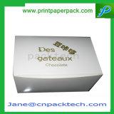 Rectángulo de empaquetado de papel impreso modificado para requisitos particulares