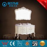 Het klassieke Kabinet van de Badkamers van de Stijl Eiken Materiële (door-F8001)