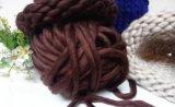 Hilado de lanas merino del bucle grande fornido estupendo
