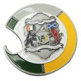Pièces de monnaie personnalisées de souvenir en métal avec le logo d'impression pour la promotion