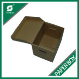 Impresión en color de Cmyk 4 del rectángulo del archivo de la caja de cartón acanalado de la caja de embalaje