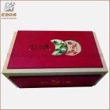 Moda venta de galletas calientes caja de embalaje Natural Brown Box