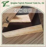 A película 18mm Shuttering da fábrica 1220X2440mm Brown de Linyi enfrentou a madeira compensada