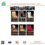 Cadeira de madeira da madeira de Louis da parte traseira redonda da cadeira do estilo de Louis da cadeira do hotel do aluguel do casamento