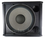 Riga professionale sistema acustico del Woofer di Jbl dell'altoparlante secondario attivo di PA audio di schiera