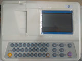 Diseño portátil máquina de ECG ECG de 12 derivaciones 3 canales