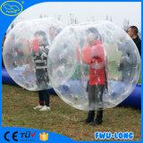 Dリングおよび多彩なロープのバックルの遊園地の膨脹可能な泡球