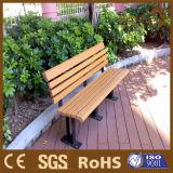 庭の家具の木製の合成物WPC屋外公園の通りのベンチ