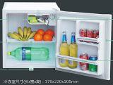 refrigerador psto solar do congelador da porta de 12V 50L mini único