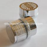 лоснистый серебряный акриловый косметический опарник 50g с кольцом частицы (PPC-NEW-101)
