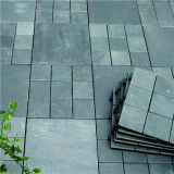 Hot Selling Slip Slate Stone Pedra de interligação de piso DIY Tile