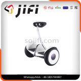 Couleur de équilibrage dévoilée de scooter d'individu de deux roues (noir/blanc)