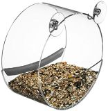 Câble d'alimentation clair d'oiseau de guichet avec les cuvettes d'aspiration et les trous de drain intenses