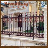Rom-Art-Sicherheit AluminiumOutdor Gussaluminium-Metallzaun für Garten