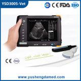 Explorador veterinario calificado colmo del ultrasonido del equipamiento médico en pantalla grande Handheld