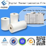 静電気の画像技術のデジタル・プリンタが付いているデジタルBOPP熱薄板になるフィルム(マット35mic光沢および35mic)