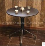 La mobilia esterna e dell'interno del ristorante ha impostato con la presidenza del rattan del PE e la tavola rotonda (SP-CT836)