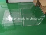 Fabricante de acrílico claro impermeable de Shenzhen de la caja de embalaje de /Rose del rectángulo de la flor