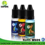 Botella de plástico de 10 ml para mascotas Salud cigarrillo electrónico jugo líquido E