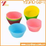 Qualité de Ketchenware facile de nettoyer le moulage de gâteau de silicones (YB-HR-134)