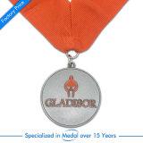 Médaille de estampage en laiton antique de récompense de souvenir personnalisée par Chine d'OEM