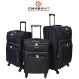 Alto Qualilty 3PCS equipaje determinado de la carretilla del recorrido de Chubont