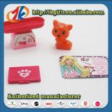 Игрушка пластичного миниого животного кота подарка промотирования установленная для малышей
