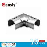 Ângulo do resplendor do aço inoxidável para o conetor do cotovelo da tubulação do sistema de trilhos