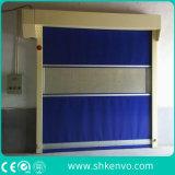 Porta de alta velocidade do rolamento da tela do PVC para o quarto desinfetado