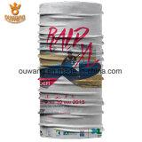 Bandana multifonctionnel en gros de blanc de polyester de mode