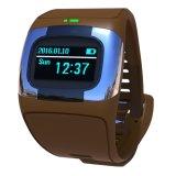 Het Waterdichte Slimme Horloge van 0.96 Duim OLED IP65 met Dubbele Banden Bluetooth & het Dynamische Tarief van het Hart, ECG, Bloeddruk, de Controle van de Slaap