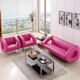 Einfaches Büro-Wohnzimmer-Leder-Sofa