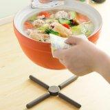 Foldable台所Trivetsのマットのシリコーンの熱い鍋のパッド