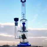 20 tubo di acqua di vetro di Perc del Birdcage di spessore del collettore 7mm del ghiaccio di pollice 6