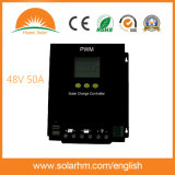 contrôleur solaire du chargeur 50A48V avec le panneau solaire pour l'énergie solaire