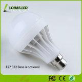 Bulbo plástico bajo 3W - 15W del blanco LED de E27 B22 con precio barato