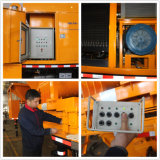 Bomba montada caminhão do misturador concreto de eficiência elevada com gerador de Commins