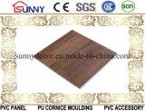 Деревянная панель стены потолка PVC строительного материала прокатанной пластмассы, Cielo Raso De PVC