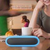 Haut-parleur Bluetooth sans fil oval mini avec couvercle en silicone