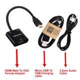 HDMI aan VGA de Adapter van de Convertor