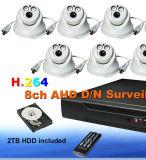 고해상 안전 Ahd DVR 사진기 시스템 장비 1080P