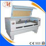 Cortadora del laser de la materia textil con la alta cámara de la definición (JM-1480H-CCD)